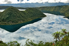 Getting close to Pachamama at Ecuador's Lake of Sky