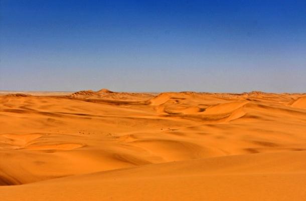 Sand Dunes at Swakopmund
