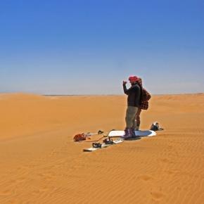 The Accidental Sandboarder