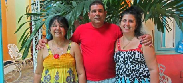 Hosts in Havana, Cuba