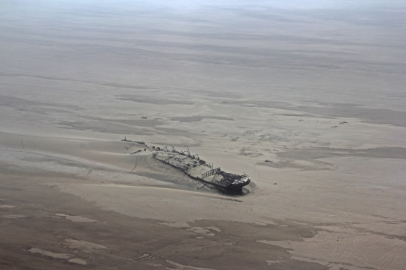 Wreck of the Eduard Bohlen on Namibia's Skeleton Coast