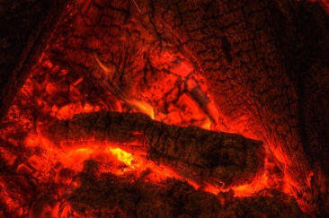 burning embers of the shaman
