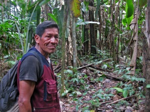 Bolivian guide in the Amazon