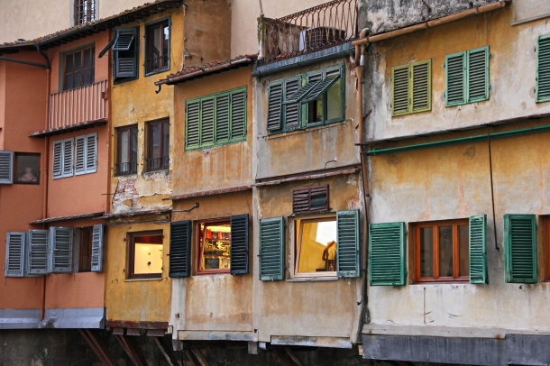 Ponte Vecchio windows, Florence