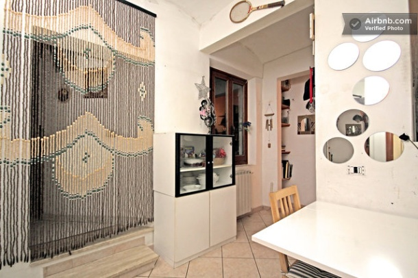 Airbnb apartment in Florence, Italy
