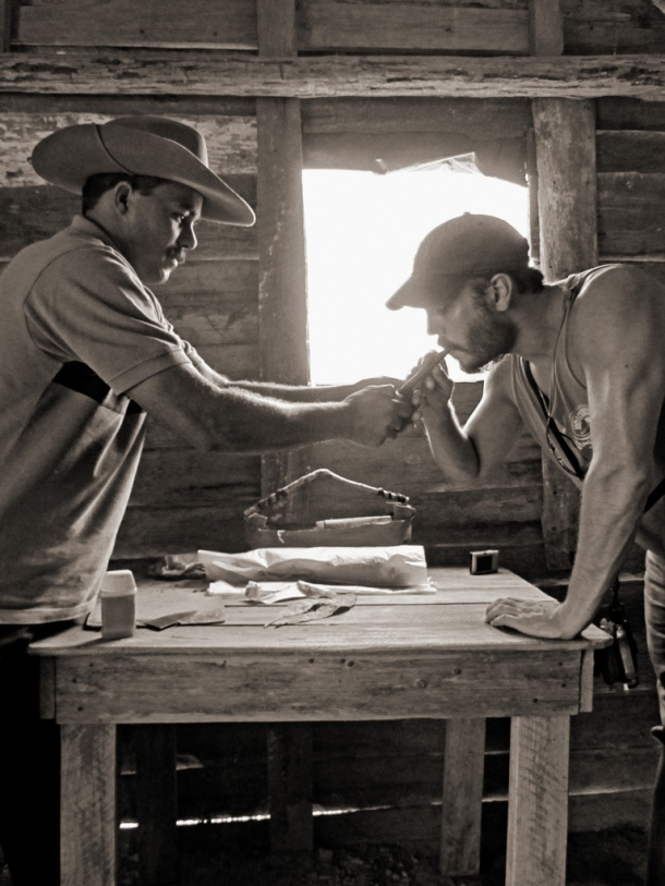 Cuban cigar and tobacco farmer, Vinales