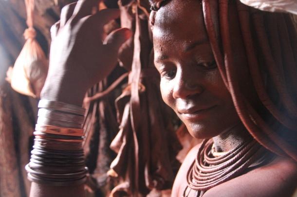 Himba woman in Kunene, Namibia