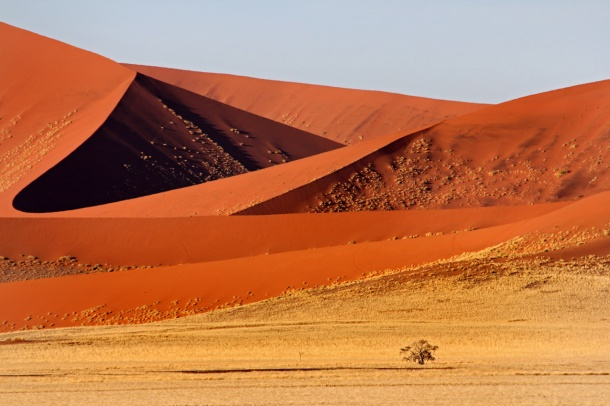 Sossusvlei in the Namib Desert - UNESCO World Heritage Site, Namibia