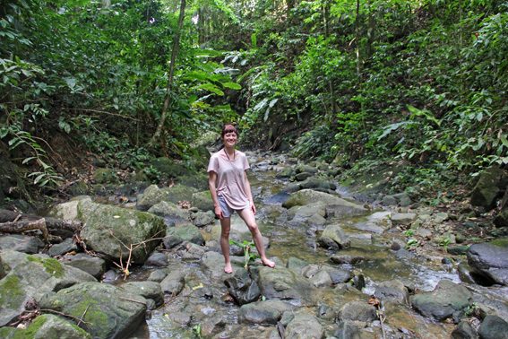 Castara waterfall trek, Tobago