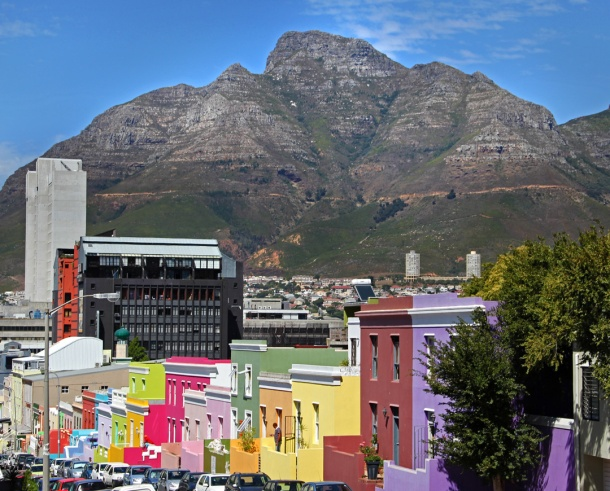 Bo-Kaap view, Cape Malay, Cape Town