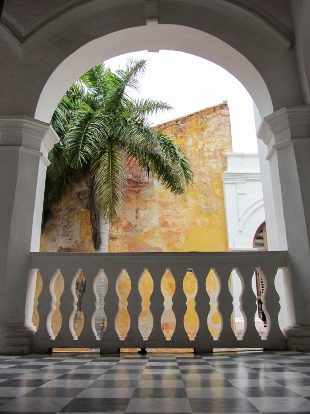 Colonial architecture in Cartagena, Colombia