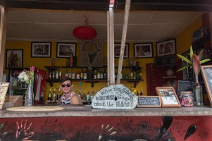 Bar at Meet Me There Lodge, Ghana