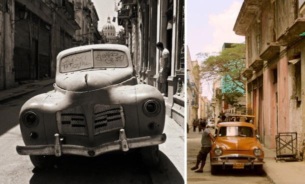 Cuba classic vintage car Havana