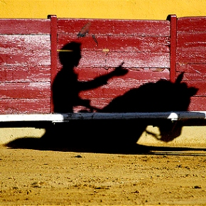 The colours of La Corrida – a bullfight in Seville