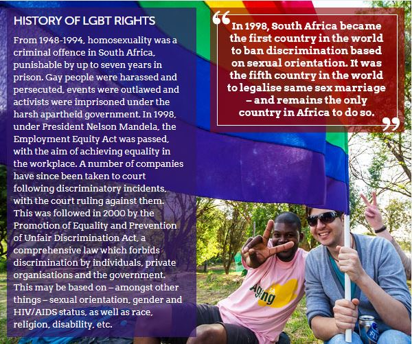 LGBT travel in South Africa